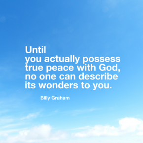 In His Own Words - Billy Graham on Peace